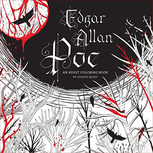 Edgar Allan Poe: An Adult Coloring Book (Colouring Books)