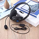 Wired Gaming Headset Cuffie con microfono per Sony PS4 PlayStation 4 590b23c6bd1b