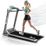 PowerMax Fitness TD-M4 (4HP Peak) Pre-installed Motorized Treadmill, Home Use & Semi Automatic Lubrication, Medium, Grey