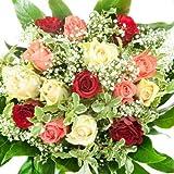 Bunter'Geburtstag' Blumenstrauß - Bumo - inkl. gratis Grußkarte!