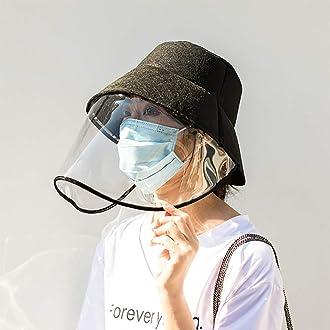 WXH Capuchon De Protection Unisexe Anti-Salive Capuchon Protecteur De Face Capot De Protection Anti-Virus P/êcheur Antibact/érien Anti-Bu/ée Anti-Poussi/ère Chapeau Chapeau De Soleil