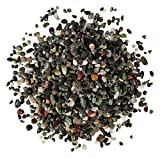 Orbit 4547-15 Aquarienkies, Palaro Edelkies mittel, 3 x 5 kg, grau/schwarz/rot