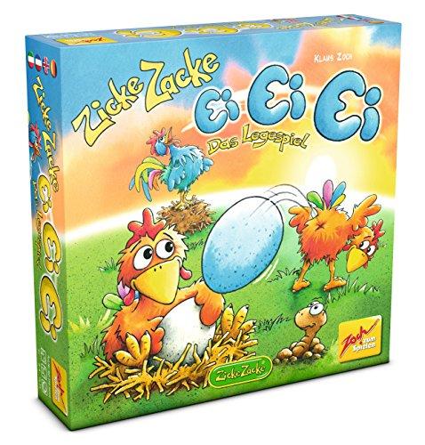 Preisvergleich Produktbild Zoch 601105056 - Zicke Zacke Ei Ei Ei, Kinderspiel
