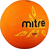 Mitre  Oasis Training Netball Without Ball Pump, Multicolour (Orange/Yellow/Black), Size 5