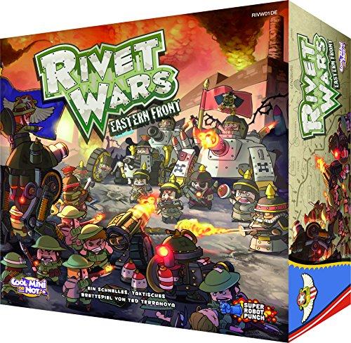 Preisvergleich Produktbild Cool Mini or Not 002557 - Rivet Wars, Familien Strategiespiele