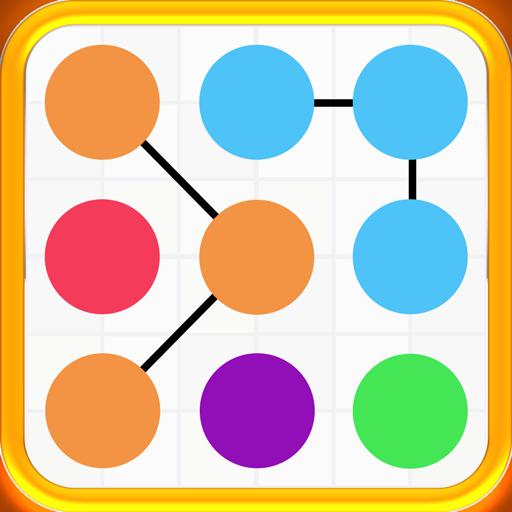 Match the Line Color Magic Line Square