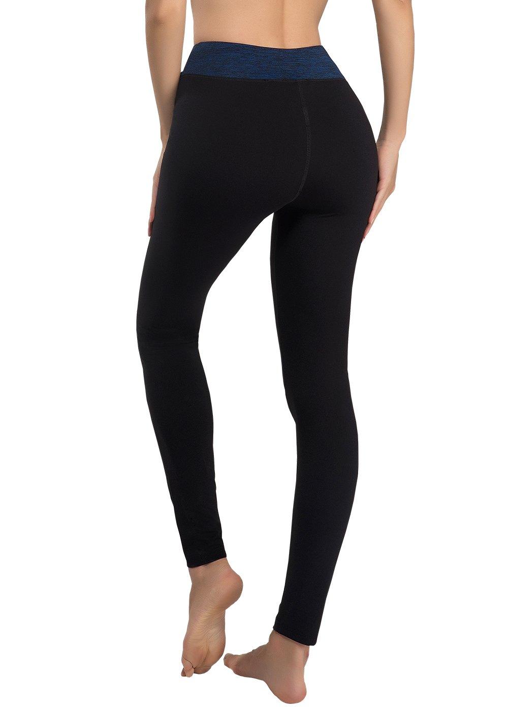 309ad6a9e38c VANIS Mallas Deportivas Mujer Yoga Leggings Pantalon Elastico Cintura  Altura Polainas para Running Gym Pilates Fitness