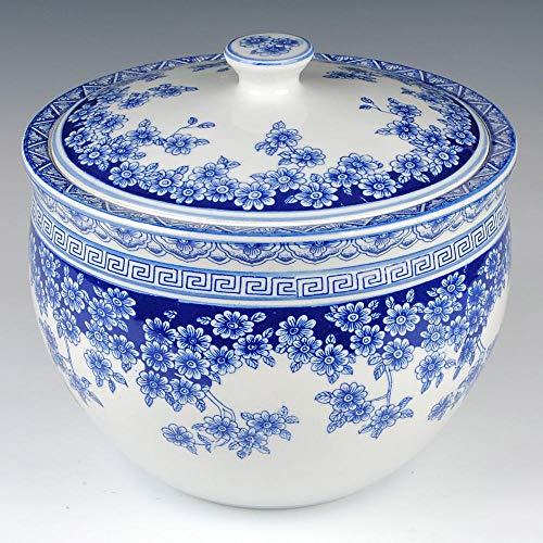 Dingzhong Jingdezhen Keramik Blau und Weiß Porzellan Lagertank Dekoration Zuckerdose IKEA Kimchi Topf