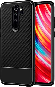 Spigen Core Armor Serisi Kılıf Xiaomi Redmi Note 8 Pro ile Uyumlu/TPU AirCushion Teknoloji/Ekstra Koruma - Matte Black