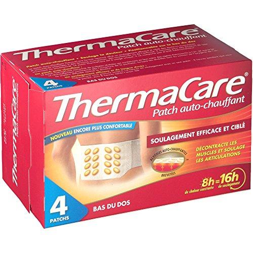 ThermaCare - Cerotti riscaldanti, 8 ore, per zona lombare, 4 pezzi