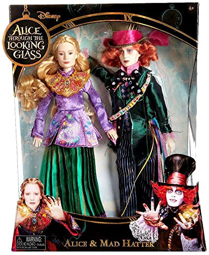 (Disney Alice Through the Looking Glass Alice & Mad Hatter Exclusive 11 Doll by Disney)