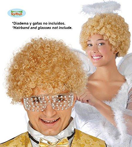 PERÜCKE - ENGEL - blond, Weihnachten Event Tanzgruppen Locken gelockt