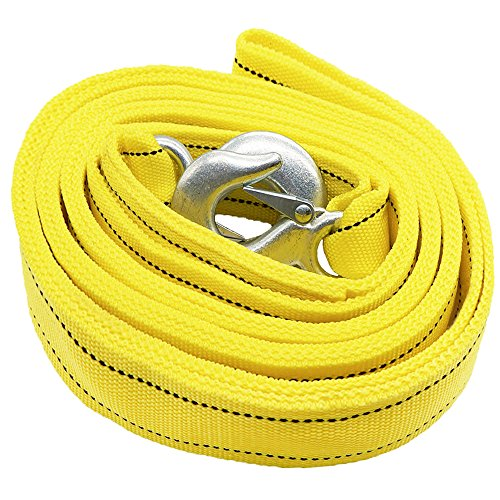 LOCEN Recovery 5 Meters Towing Rope with 2 Hooks - for sale  Delivered anywhere in UK