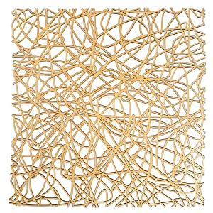 WENKO 2003030100 Spülbeckeneinlage Cross Orange, Kunststoff, Orange
