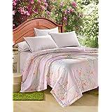 Dngy*Tencel colcha de verano simple o doble impresión reactiva fresco en el verano Cool Quilt colcha cama twin Set ,