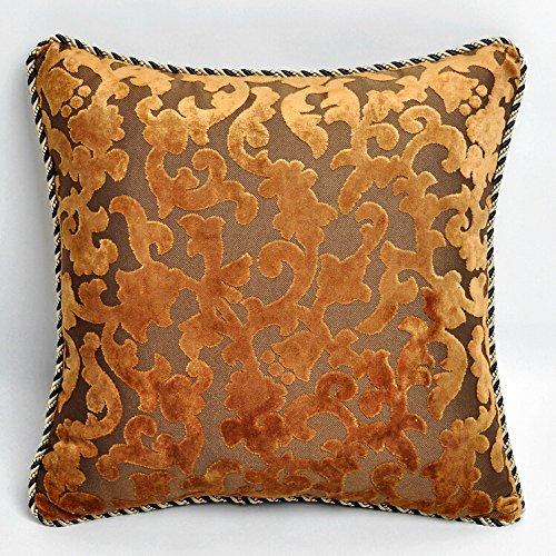 RFVBNM La celebración de Las bodas de oro Del respaldo de cama sofá de lujo almohada cojín almohada/Chip-Continental kit kit de cojín almohada