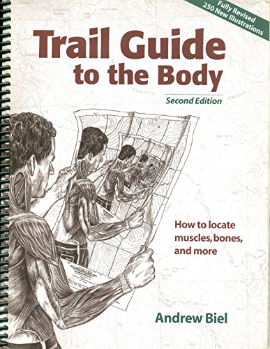 Portada del libro By Andrew R. Biel - Trail Guide to the Body: How to Locate Muscles, Bones, and More (2nd edition) (6/15/01)