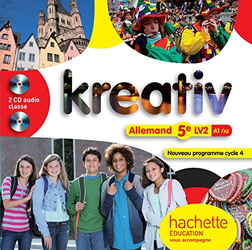 Kreativ Allemand Cycle 4 / 5e Lv2 - CD Audio Classe - ed. 2016