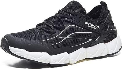 BaiMoJia Scarpe da Ginnastica Uomo Donna Casual Corsa Sneakers Traspirante Leggere Sportive Fitness