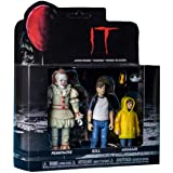 Funko 30006 Action Figure: It 2017 3-Pack: Pennywise, Bill, Georgie Collectible, Multicolour