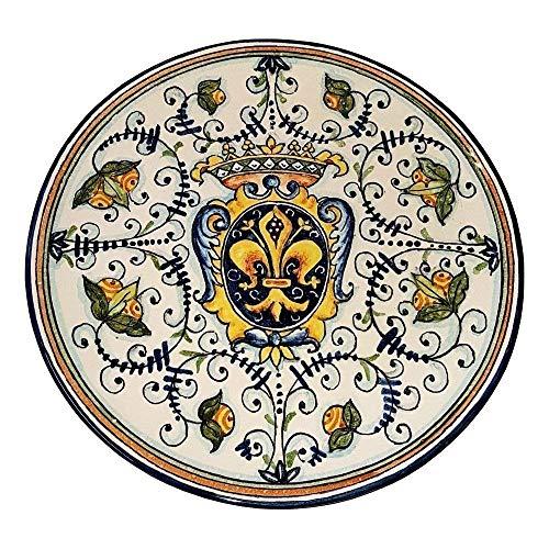 CERAMICHE D\'ARTE PARRINI- künstlerische italienische Keramik, Wohnung, Lilie, Handarbeit made   in Italy Toscana