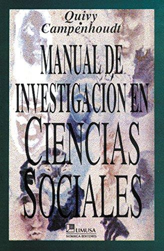 Descargar Libro MANUAL DE INVESTIGACION EN CIENCIAS SOCIALES de Raymond Quivy