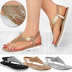 6a52acd6ac Fashion Thirsty Heelberry® Womens Ladies Flat Low Wedge Diama .
