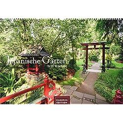 Japanische Gärten 2019 L 50x35cm