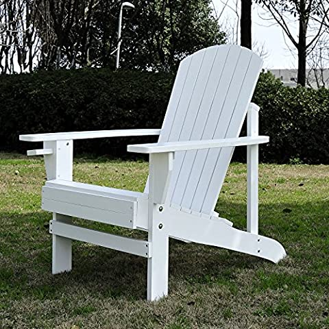 Fauteuil de jardin Adirondack tabouret chaise longue chaise plage en