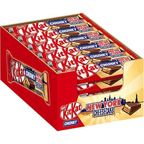 "Preisvergleich Produktbild Nestle KitKat Chunky ""New York Cheesecake"" 24 x 42g Riegel"