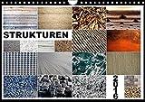 Strukturen (Wandkalender 2017 DIN A4 quer): Strukturen, Oberflächen, Muster, Materialien (Monatskalender, 14 Seiten ) (CALVENDO Technologie)