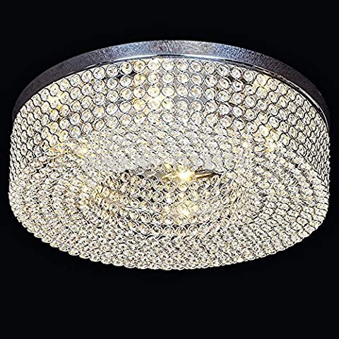 Crystal Ceiling Lamp American Style Modern Retro (Not Include The Light Source ) 6 Lamp Holders by Aiwen