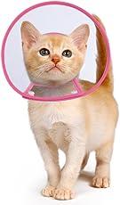 Hundehalsbänder Halskrausen Kegel, PETBABA Gepolstert Elisabethanisch Hunde Halsband für Welpen Kätzchen