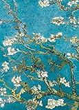 Vincent Van Gogh - Ramo Di Mandorlo In Fiore, 1890, 2 Parti Poster Carta Da Parati Fotomurale (250 x 180cm)