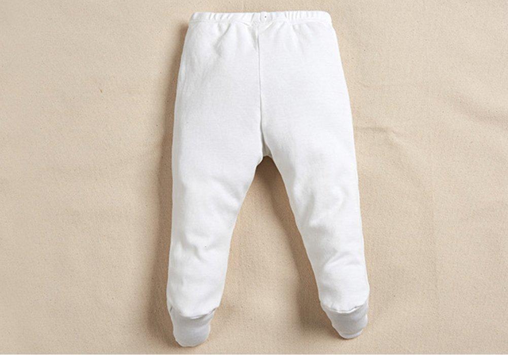 Monvecle Unisex Beb¨¦ 5 Pack Reci¨¦n Nacidos de Algod¨n Ni?o Largo Pantalones y Pantalones Cortos Set de Regalo 5