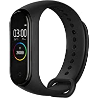 Anoint India Smart Band M4 Fitness Tracker Watch with Heart Rate, Activity Tracker Water Resistant Body Functions Like…