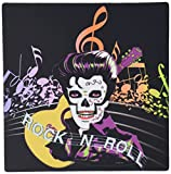 3drose LLC 20,3 x 20,3 x 0,6 cm Rock und Roll Skull Elvis Mauspad (MP _ 18914 _ 1)