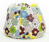 #6: Floral design, cotton canvas comfort research printed bean bag xxxl with bean by Aart Store
