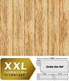 Holz Tapete Vliestapete EDEM 944-21 Geprägte Tapete in Holzoptik Holzdielen-Muster kiefer-gelb antik-gelb 10,65 qm