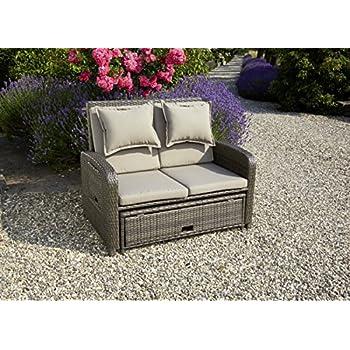 Balkonmöbel lounge-sofa  Amazon.de: Dreams4Home Lounge Sofa 'Bajula' - Lounge, Sofa, Rattan ...