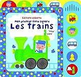 Image de Les trains - Mon premier livre sonore