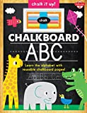 Chalkboard ABC: Learn the alphabet with reusable chalkboard pages! (Chalk It Up!)