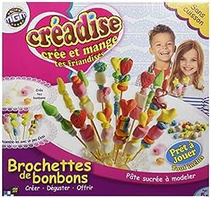 Mgm - 012412 - Kit De Loisirs Créatifs - Creadise - Boîte Brochettes Bonbon