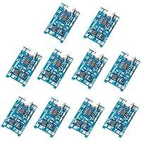 Muzoct 10pcs 1A 5V Micro USB 18650 Cargador de Energía de la Batería de Litio TP4056 Junta Módulo TE420