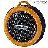 Altoparlante Bluetooth Impermeabile Giallo senza fili con ventose. MTK N8338