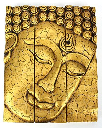 3-parte-buda-tailandes-panel-de-la-cara-agrietado-acabado-de-oro-tallado-en-madera