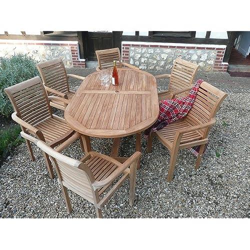 Teak Garden Furniture: Amazon.co.uk