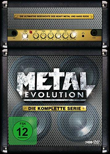 Preisvergleich Produktbild Metal Evolution - Die komplette Serie (3 Discs, Steelbook)