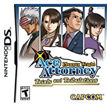 Capcom Ace Attorney - Juego (NDS, Nintendo DS, Aventura, T (Teen))