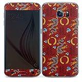 DeinDesign Samsung Galaxy S6 Folie Skin Sticker aus Vinyl-Folie Aufkleber China Drachen Dragons